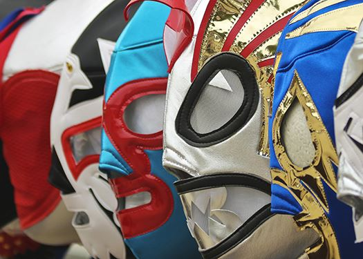 Colorful Luchador Masks